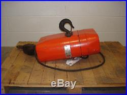 CM Valustar WR 2 Ton 1HP 10.3A 2000kg Electric Chain Hoist