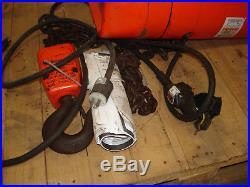 CM Valustar WR 2 Ton 1HP 13.4A 2000kg Electric Chain Hoist (C)