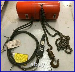 CM lodestar electric chain hoist 1/4 Ton Condition Unknown