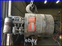 Cm Lodestar 2Ton Electric Chain Hoist 1Ph 10' Lift PARTS or WHOLE