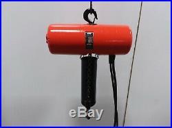 Cm Lodestar Model L 1 Ton 2000lb Electric Chain Hoist 1Ph 110v 20' Lift