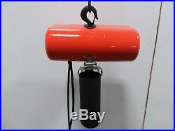 Cm Lodestar Model L 1 Ton 2000lb Electric Chain Hoist 1Ph 115v 15' Lift