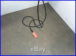 Cm Lodestar Model L 1 Ton 2000lb Electric Chain Hoist 1Ph 120v 14'6 Lift