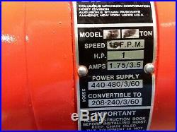 Cm Lodestar Model L 1 Ton 2000lb Electric Chain Hoist 3Ph 14'6 Lift