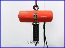 Cm Lodestar Model L 1 Ton 2000lb Electric Chain Hoist 3ph 19' Lift
