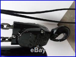 Cm Lodestar Model R 2 Ton 4000lb Electric Chain Hoist 3Ph 17' Lift