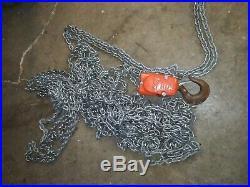 Cm Lodestar Model R2 2 Ton Electric Chain Hoist 3Ph 230/460 50' Lift
