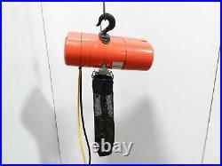 Cm Lodestar Model RR 2 Ton 4000lb Electric Chain Hoist 3Ph 20' Lift 16fpm