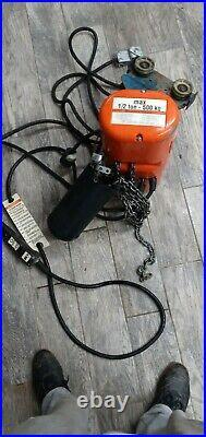 Cm electric chain hoist