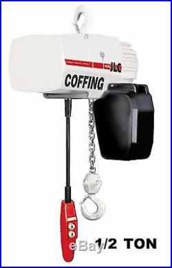 Cmco Coffing Jlc Electric Chain Hoist 1/2 Ton Capacity