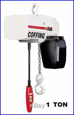 Cmco Coffing Jlc Electric Chain Hoist 1 Ton Capacity