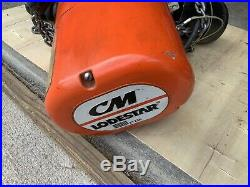 Cmco Lodestar Electric Chain Hoist 250 Lb Capacity, Single Speed
