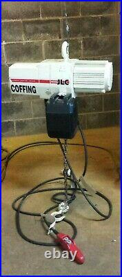 Coffing 1 Ton Electric Chain Hoist 115/230 Volts