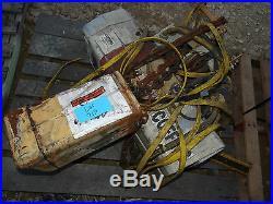Coffing 2 Ton 4000 Lbs Electric Chain Hoist Lift Ec-4016-3 Industrial Equipment