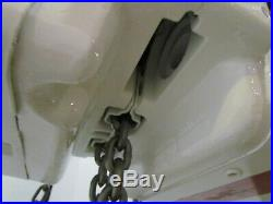 Coffing 2 Ton 4000LB Electric Chain Hoist 15' Lift 24FPM 3PH 208V