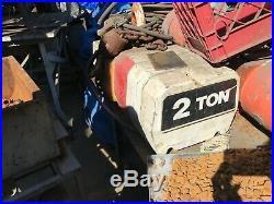 Coffing 2 Ton Electric Chain Hoist 230/460 V 3Ph 60Hz 10 Lift 16 FPM TESTED