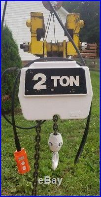 Coffing 2 Ton Electric Chain Hoist 230/460 Volts
