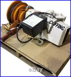 Coffing 2 Ton Electric Chain Hoist With Trolley and Cord Reel 240/480V 3 Ph