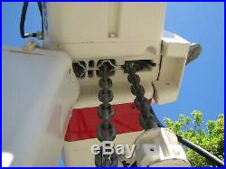 Coffing 3 ton Electric Chain Hoist with Trolley 460V 3 Phase 22 ft length 6000 lbs