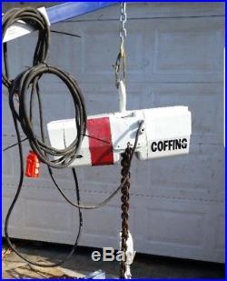 Coffing 4 Ton Electric Chain Hoist