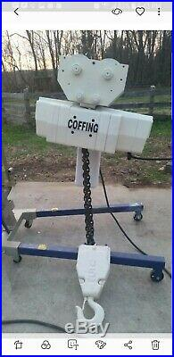 Coffing 5 Ton Electric Chain Hoist