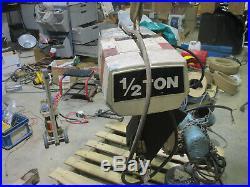 Coffing / Duff Norton 1/2 ton 3 phase chain hoist Model EC-1016-3