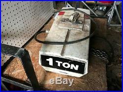 Coffing Duff Norton 1 ton 3 Phase 460 Volt Electric Chain Hoist Lift