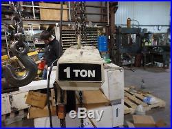 Coffing Duff Norton 1Ton Electric Chain Hoist 3Phase 230/460V