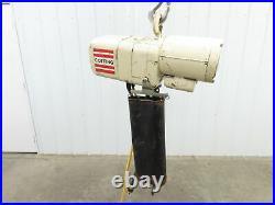 Coffing ELC 4008.1 2 Ton 4000 LB Electric Chain Hoist 15' Lift 8fpm 115v 1ph
