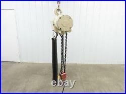 Coffing ELC 4008.1 2 Ton 4000 LB Electric Chain Hoist 20' Lift 8 fpm. 115v 1ph