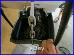 Coffing Ec. 4008.1 2 2t Ton 4000lbs. Electric Chain Hoist 120/240v 1ph 172 Drop