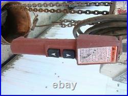 Coffing Electric Chain Hoist 2Ton, 20' chain, EC. 4008.3