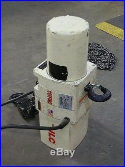 Coffing Electric Chain Hoist 2Ton Cap. 15Ft Max. Lift #08248WCM Parts/Repair