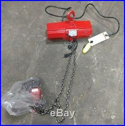 Coffing Emc Electric Chain Hoist 500 Lb Capacity