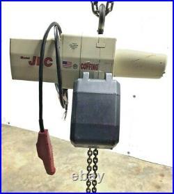 Coffing Jlc Electric Chain Hoist 10-ft/chain 7-ft/control 1/2-ton 460-v 3-ph