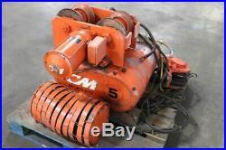 Columbus McKinnon 7030 Series 670 Electric 5 Ton Electric Chain Hoist & Trolley