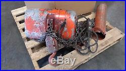 Columbus McKinnon Lodestar 2 Ton Electric Chain Hoist Model R w Pendant