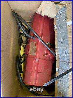 DAYTON 2GTD5 Electric Chain Hoist, 800 lb, 20 ft