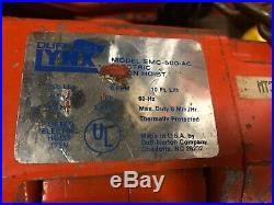 DUFF LYNX 500LB CAPACITY MODEL EMC-500 10FT ELECTRIC CHAIN HOIST With PENDANT