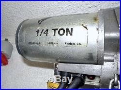 DUFF-NORTON LITTLE MULE 1/4 Ton (500 lb) Electric Chain Hoist LMES-0512-20/115V