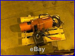 Dayton 1 Ton Chain Electric Motor Hoist 3YB91
