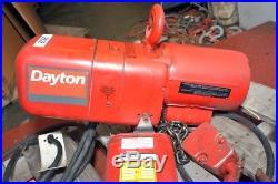 Dayton 2 ton Electric Chain Hoist (Inv. 38628)