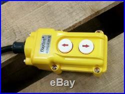 Dayton 2GXH8 1 HP 115V 4000 Lb Load Cap 20 Ft Hoist Lift Electric Chain Hoist