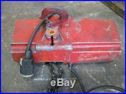 Dayton 300 lb Electric Chain Hoist 115v 1 Phase 10' Model 4Z358 Good Condition