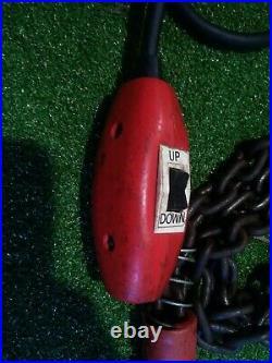 Dayton 300lb Electric Chain Hoist Mod#4Z358 115 Volt -10' Used Condition