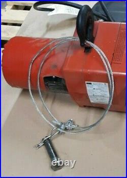 Dayton 3YB85G 1/2 Ton H4 Electric Chain Hoist