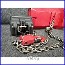 Dayton 452R39A Electric Chain Hoist 115/230V, 10 ft. Hoist Lift, 20 fpm, No Box