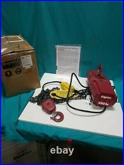 Dayton 4Gu71 Electric Chain Hoist 500 Lb 10 Ft Hook Mounted