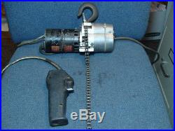 Dayton 4Z310 500 Lb Max 1/4 HP 8' Lift Electric Chain Hoist