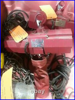 Dayton 500 lb Electric Chain Hoist 10 ft. 4GU71